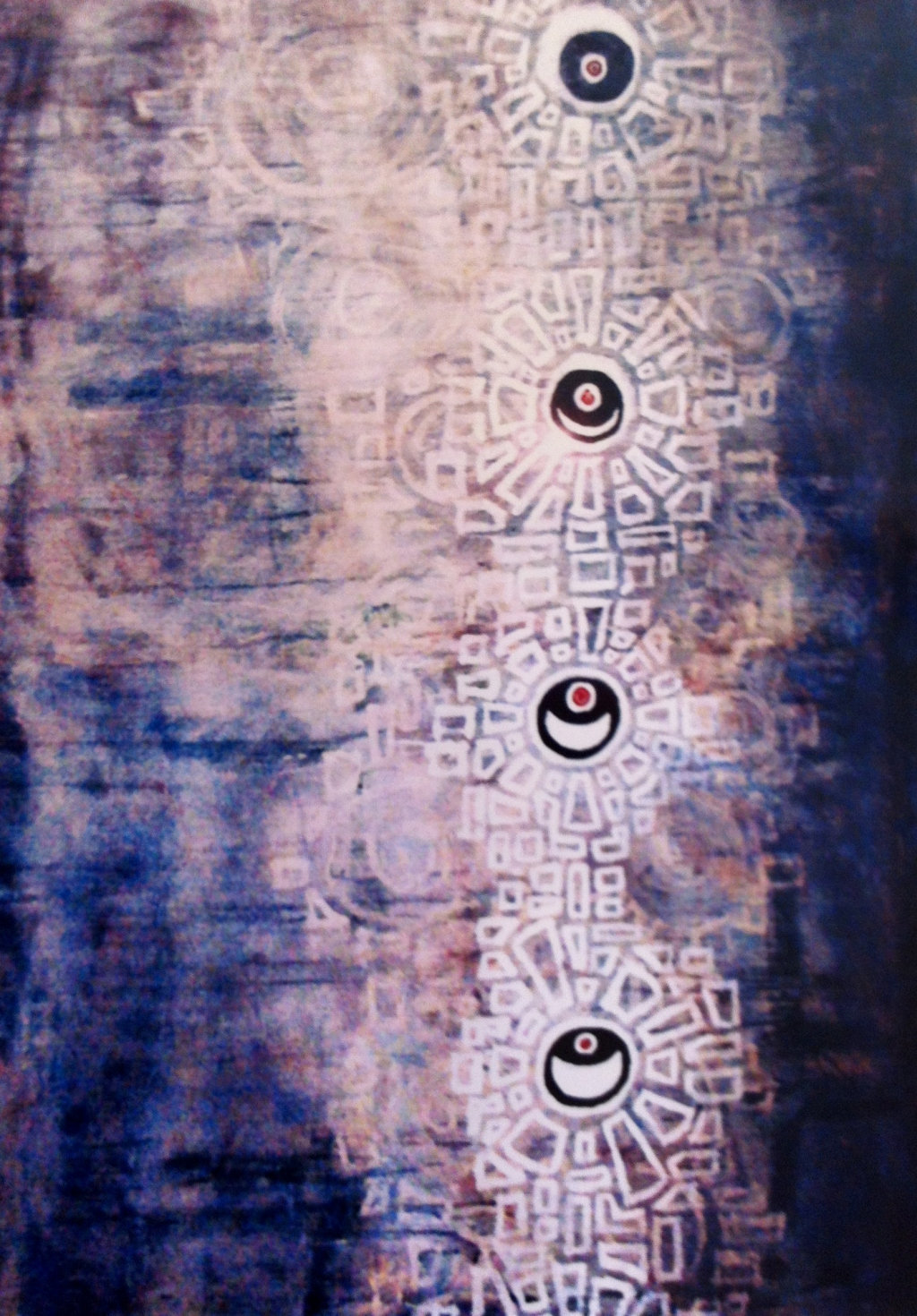 Eclipse. Painting.  2005  4'X8'