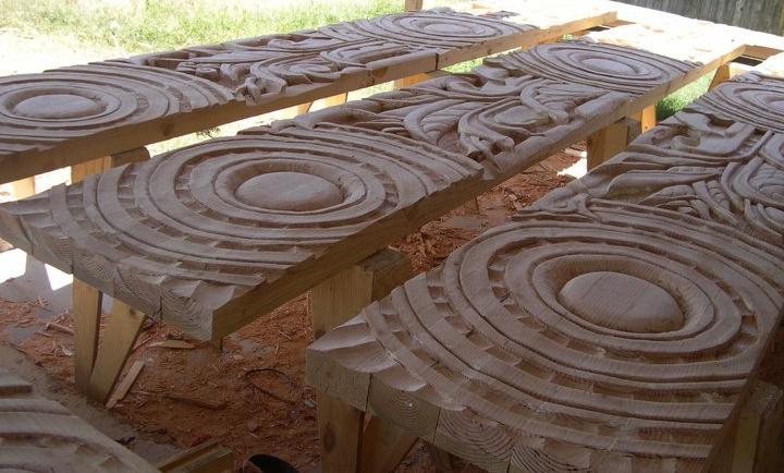 panels in progress