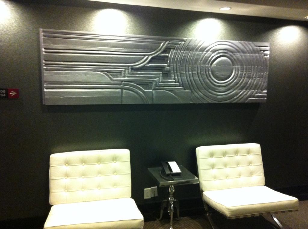 Executive Suite floor 7 panel.