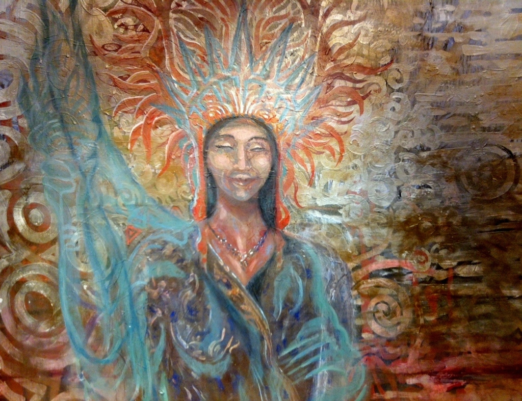 Liberty.  Painting.  2012  3'X5'  SOLD